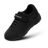 Giesswein Merino Runners Kids - black 022