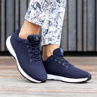 Giesswein Wood Sneaker Women - ocean blue 540