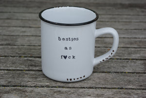 best friend coffee mug set besties as fuck besties af