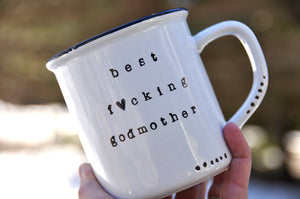 Godmother gift mug will you be my godmother ideas asking godparents ideas thank you godparents will you be my godmother gift