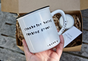 thoughtful thank you gift ideas thank you mug