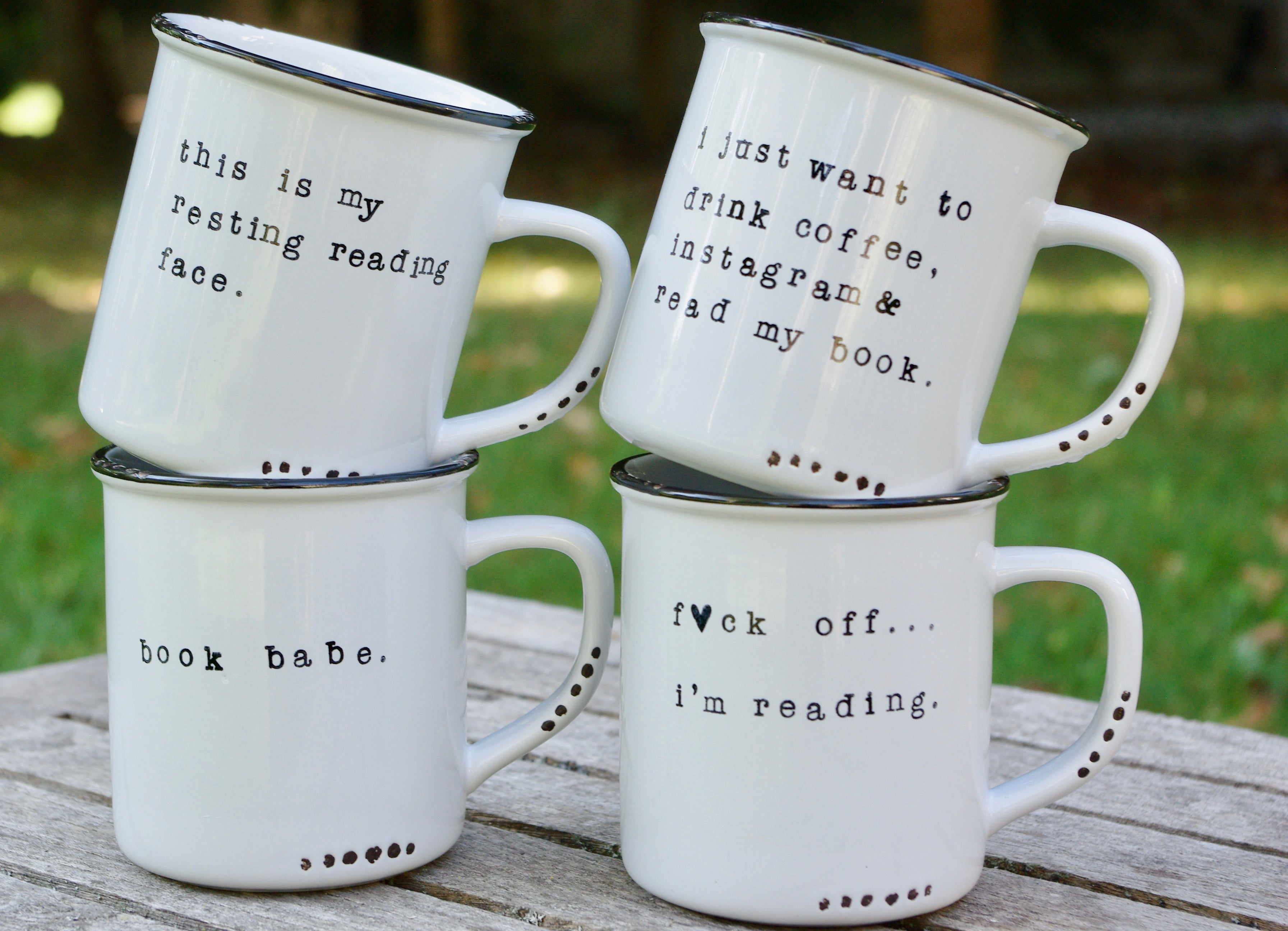 gifts for book lovers book themed mugs literary mug
