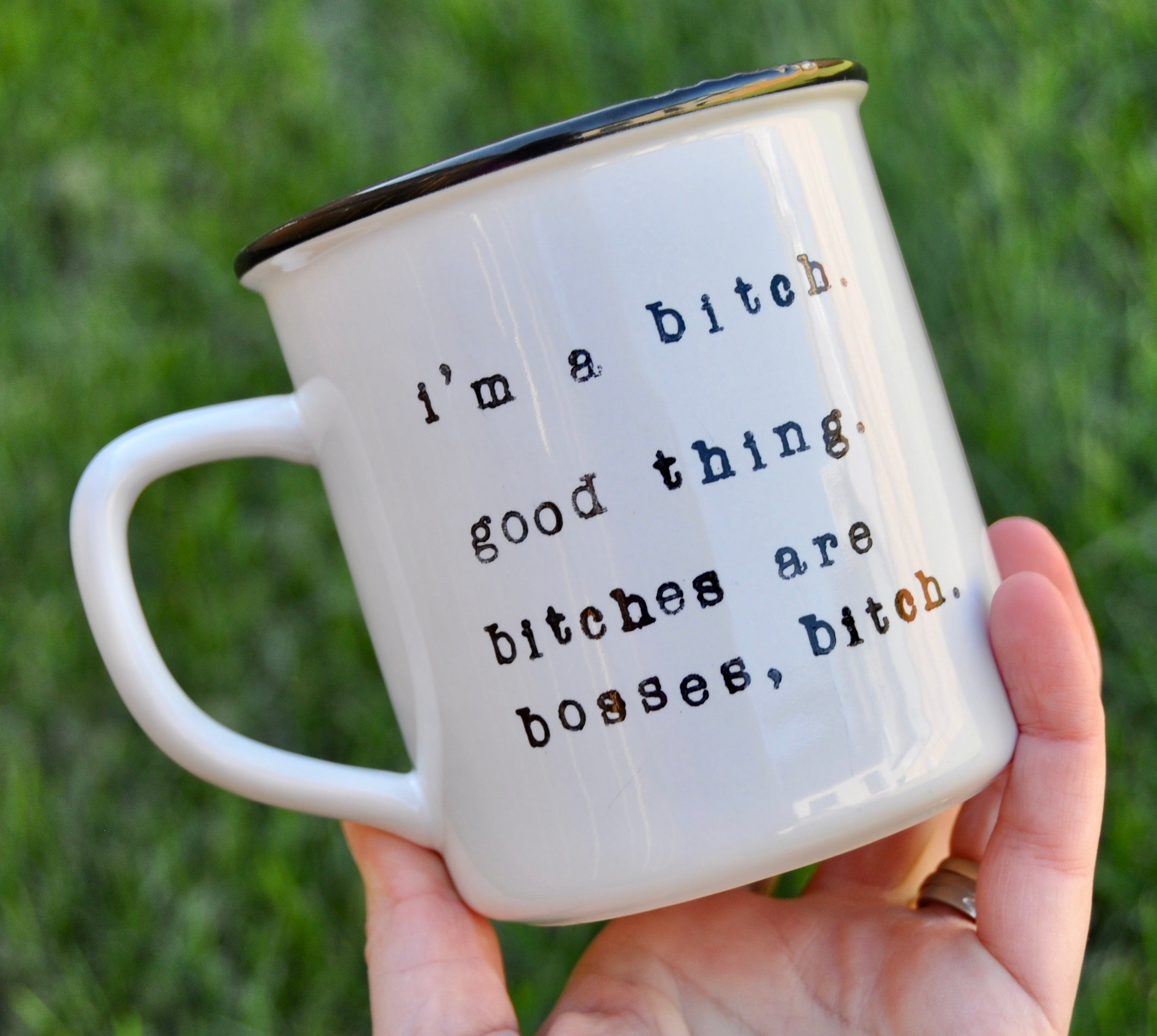 Boss gift bitch mug