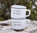 pregnancy announcement mugs pregnancy announcement how to tell great grandparents you're pregnant how to surprise new grandparents how to surprise great grandparents with pregnancy