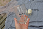 Mom gift: best mom wine glass, candle, t-shirt set
