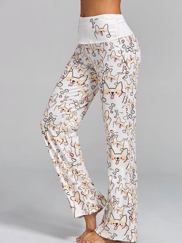 Chic Printed Yoga Pants