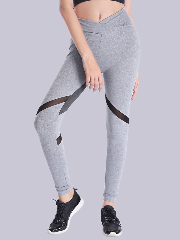 Color Block High Waisted Sports Leggings