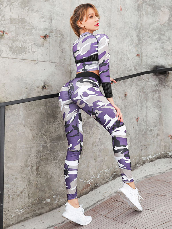 Camouflage Tight Yoga&Gym Suits