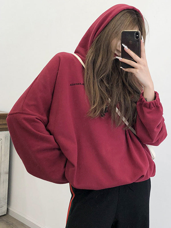 Several Color Casual Simple Hoodie
