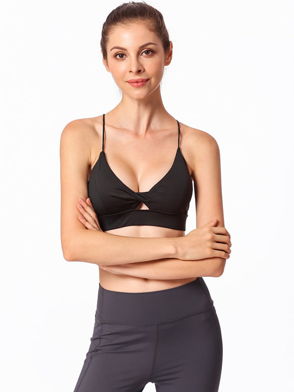 3 Color Top Quality Hot Yoga Sports Bras