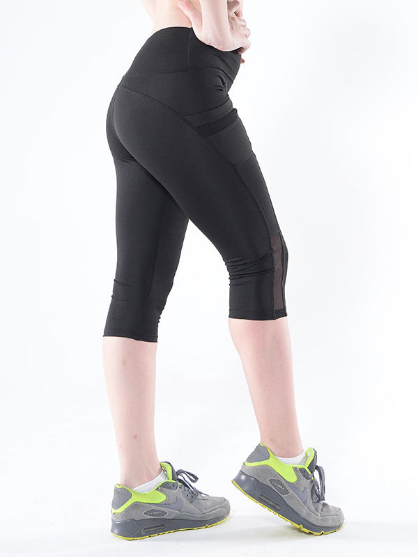 Skiny Mesh Wide Waistband Leggings