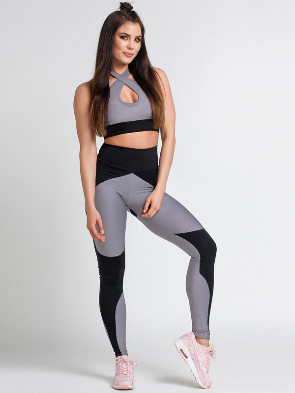 Casual Printed Sports Yoga&Gym Suits