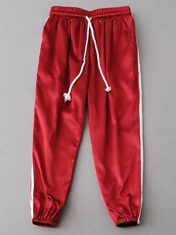 Split-joint Casual Harem Pants Bottoms