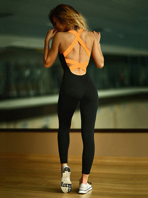 Yoga Cross Strapped jumpsuits