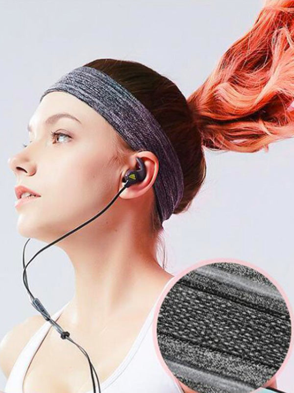 Solid Seamless Headband Accessories