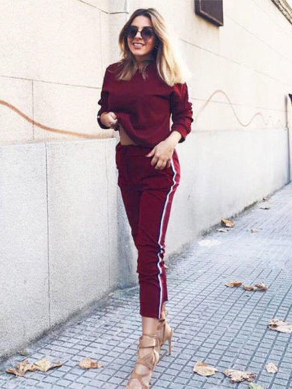 Long Sleeve Hoodie Casual Yoga&Gym Suits