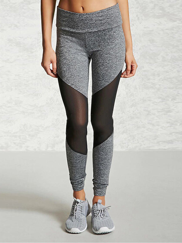 Split-joint Hollow Wrap Yoga Leggings