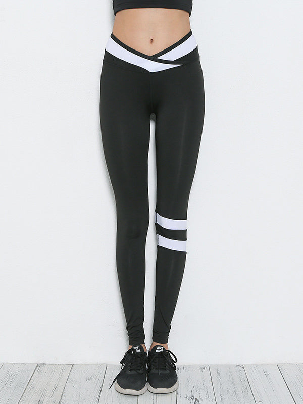 Contrast Gym Workout Leggings