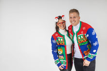 Load image into Gallery viewer, ugly christmas cardigan