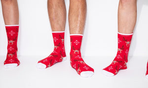 mens christmas socks