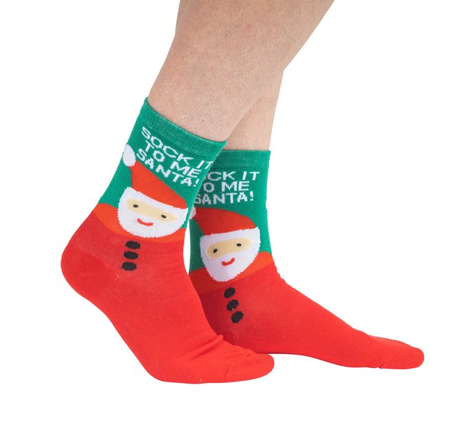 ladies christmas socks