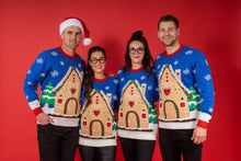 Load image into Gallery viewer, Men's Merry & Bright Light Up Christmas Jumper
