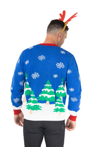 mens light up christmas jumper