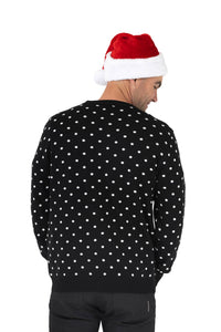 mens rudolph christmas jumper