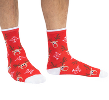Load image into Gallery viewer, mens christmas socks