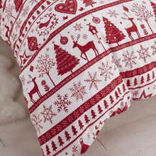 Load image into Gallery viewer, Classic Nordic Christmas Duvet