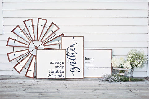 Pink Lemon Decor signs