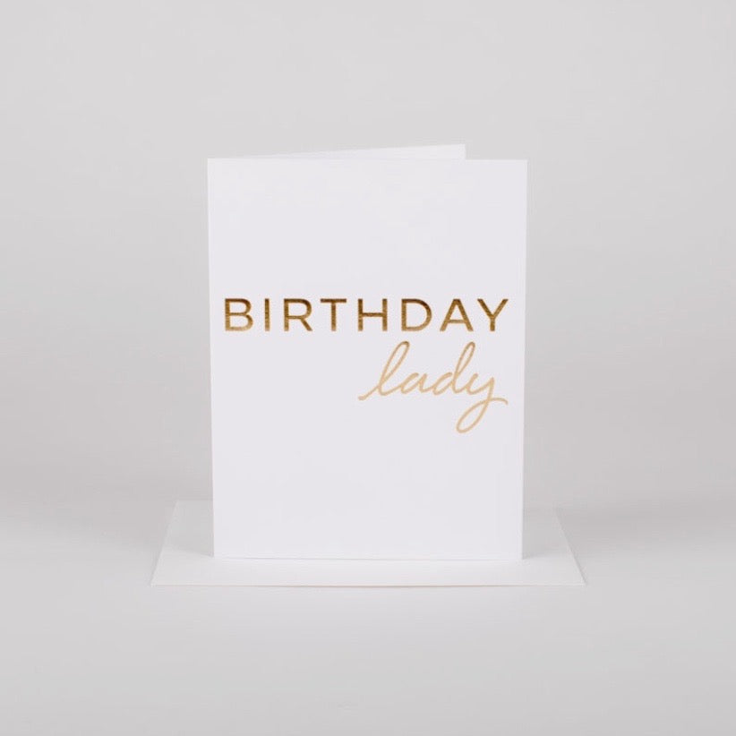 Birthday Lady • Card