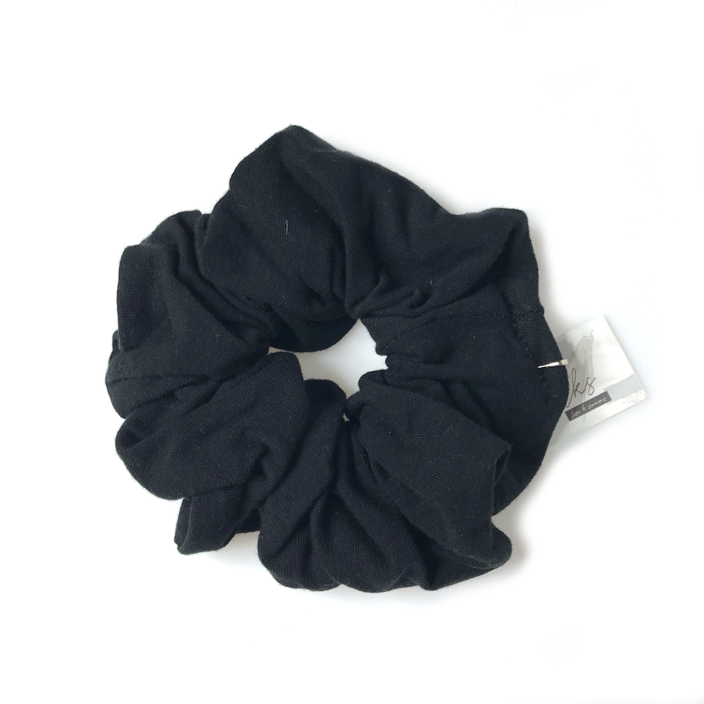 Black • The Modern Scrunchie