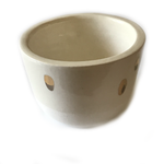 Gold Dots • Ceramic Pot