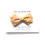 Goldie ~ Twist Bow • Clip