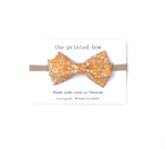 Goldie ~ Twist Bow • Headband