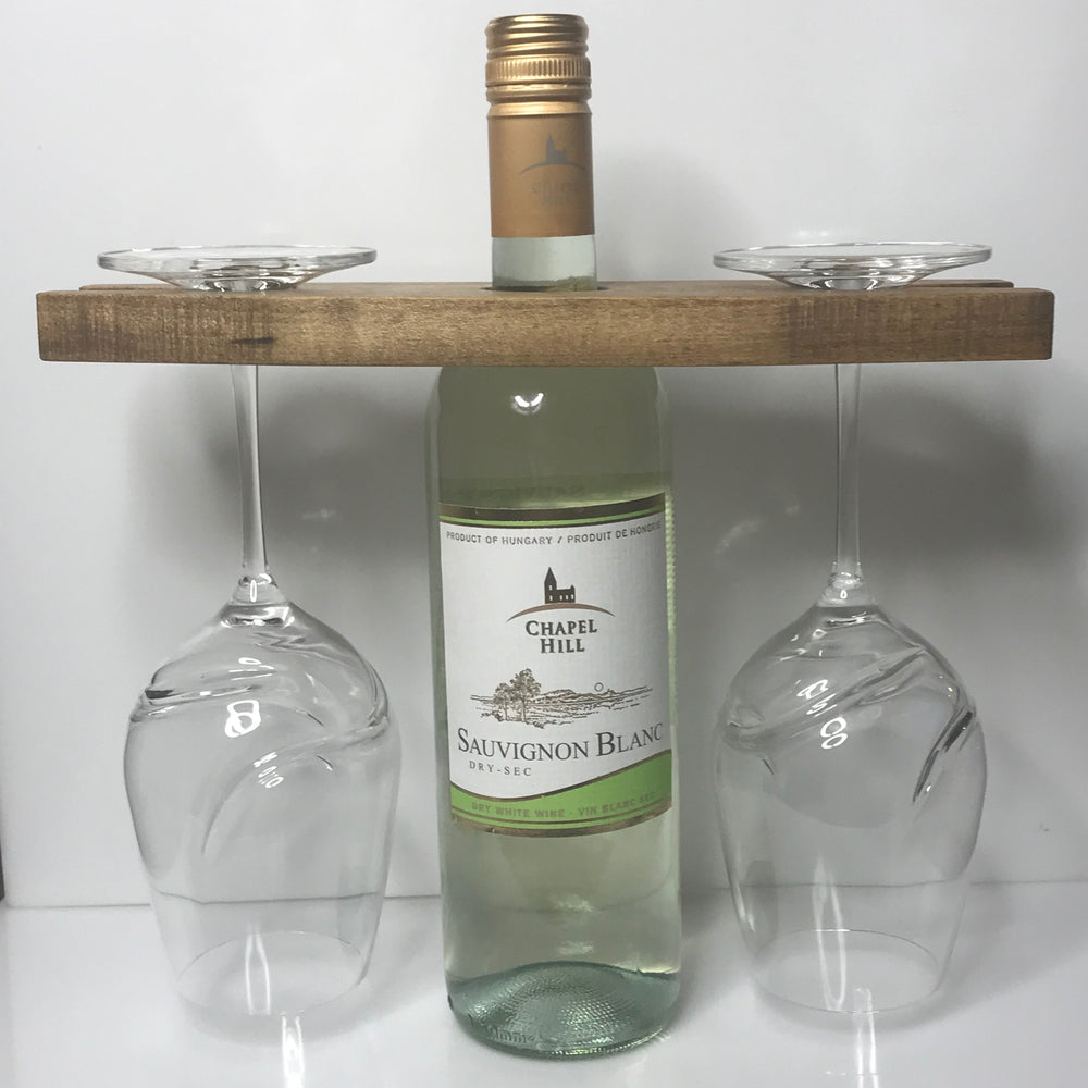 The Caddy • Wine Glass Holder