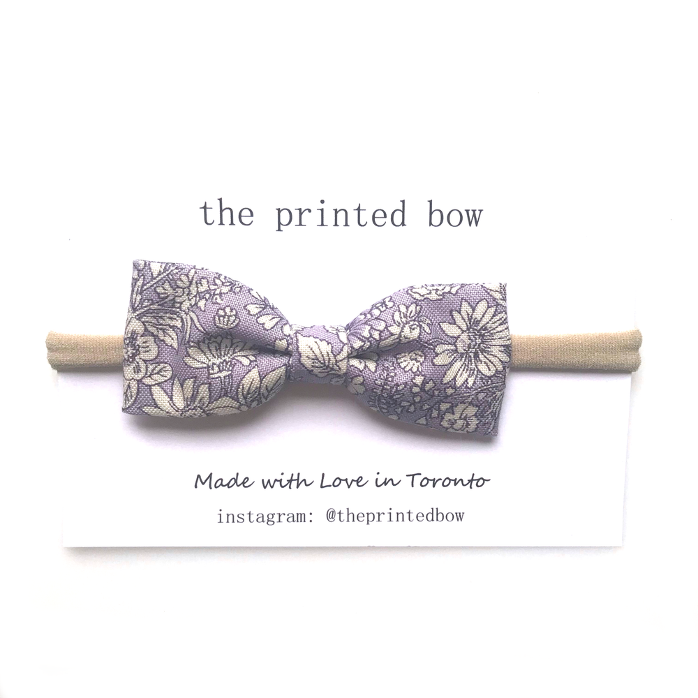 Violet ~ Sweet Bow • Headband
