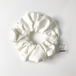 White • The Modern Scrunchie
