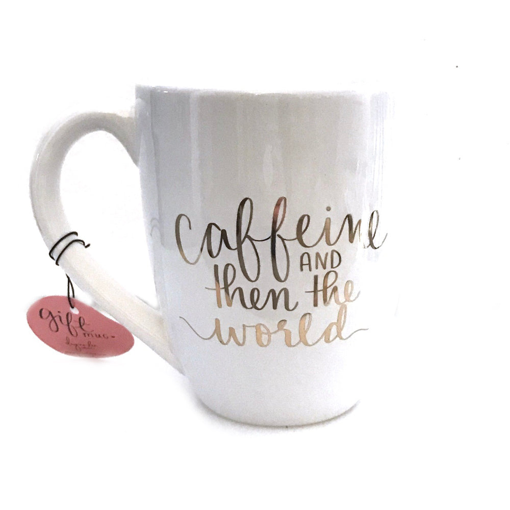 Caffeine & Then The World • Mug