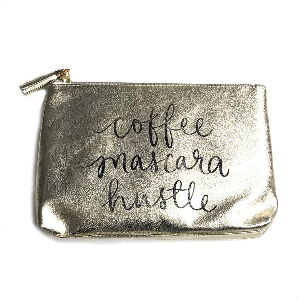 Coffee, Mascara, Hustle • Pouch