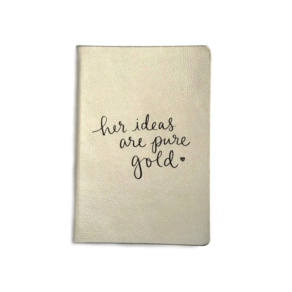 Her Ideas Are Pure Gold • Journal