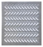 Arrows ~ Grey • Sponge Cloth