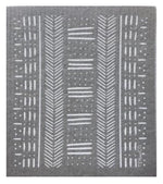Mudcloth ~ Grey • Sponge Cloth