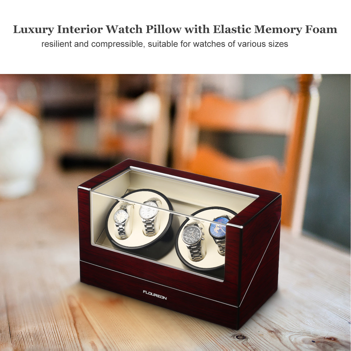 Auto Watch Winder Box 2.0+0/4.0+0 (UK Only)