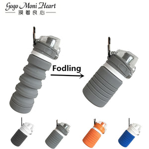 500ML silicone bottle