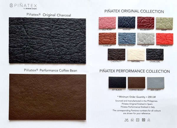 Piñatex® Swatch Card - Limited Edition