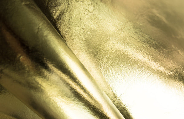 Piñatex® METALLIC Flat Gold 475 gsm