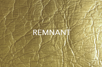 Piñatex® ORO Wrinkled Gold 475 gsm - REMNANT