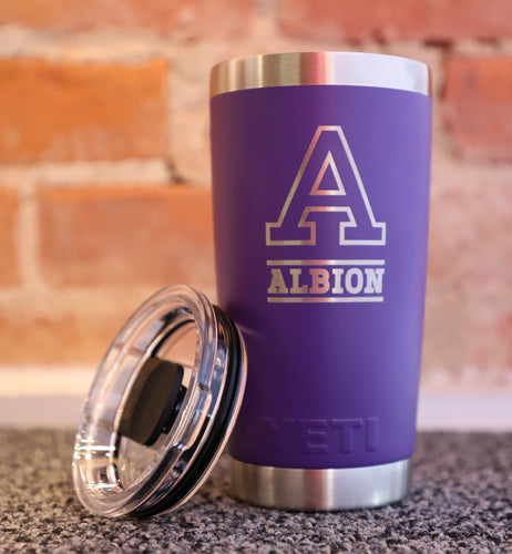 Purple Yeti - Albion College